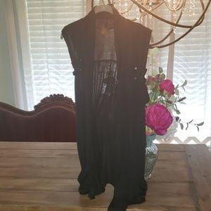 Cardigan Style Vest